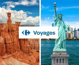 Code promo 10% supplémentaires sur une sélection de voyages aux Etats-Unis & Canada