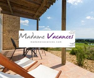 Code promo - 15% sur les séjours à la mer et campagne de la gamme Madame Vacances