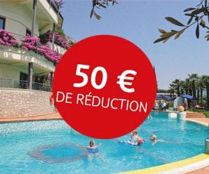 Code promo Vacances d'été : - 50 € suppl. sur les vacances en voiture, citytrips, escapades