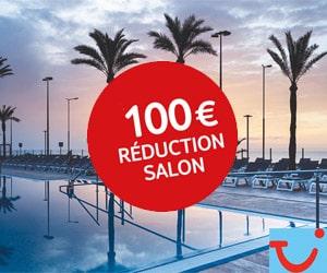 Code promo Vacances d'été : - 100 € supplémentaires sur les vacances en avion avec code promo