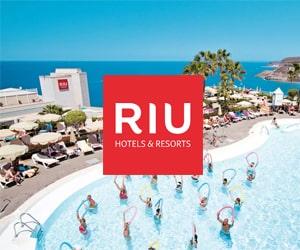 Code promo 10% supplémentaires sur une sélection de séjours en hôtels RIU