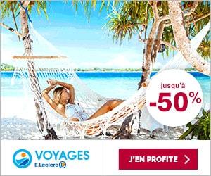 Bons Plans Codes Promo Et Réductions Leclerc Voyages 28