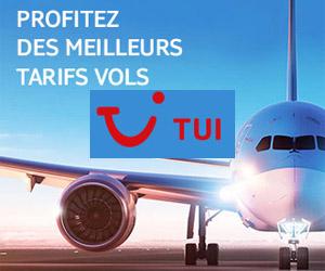✈ TUI fly vols last minute ou promotion vols bon marché